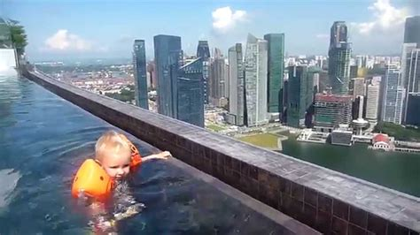 infinity pool death infinity pool marina bay sands highest amp largest in the