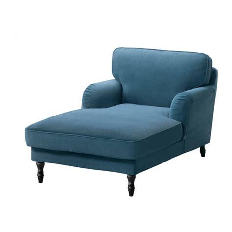 chaises longues ikea stocksund chaise ljungen blue black ikea