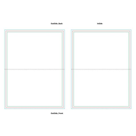 4 X 5 5 Folded Card Template by Free Folded Card Templates Romeo Landinez Co