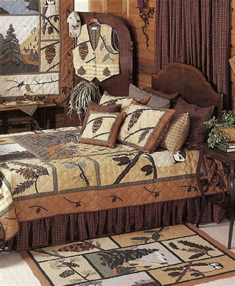 pinecone bedding pine cone by patchmagic quilts beddingsuperstore com