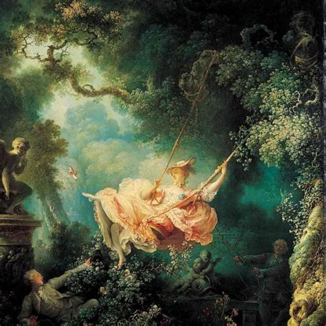 rococo the swing the swing jean honor 233 fragonard art reproduction