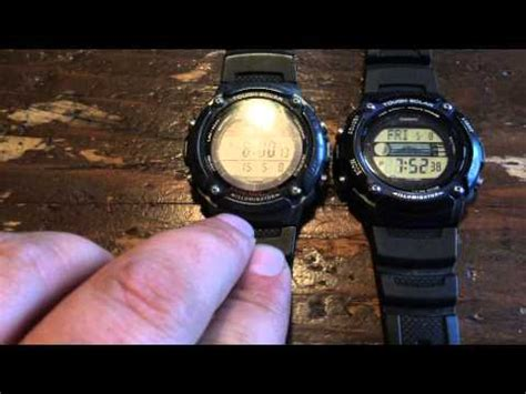 Casio Illuminator W S210h 1avdf Hitam casio w s220 unboxing and opinion tough solar runners