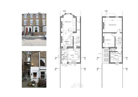 Extension Floor Plans by Architect Designed Kitchen Extension Clapham North Lambeth Sw4