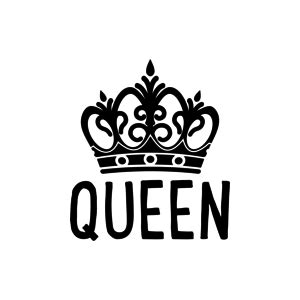 Kitchen Design On Line buy the s black queen crown on white design for mobile