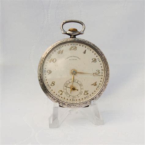chronometre swiss pocket vintage catawiki