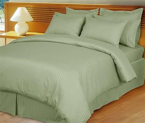 home design mini stripe down alternative queen comforter sage mint green damask stripe down alternative 4 pc