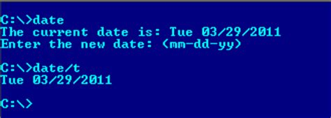 8 Dos On Dates by Most Commonly Used And External Dos Commands