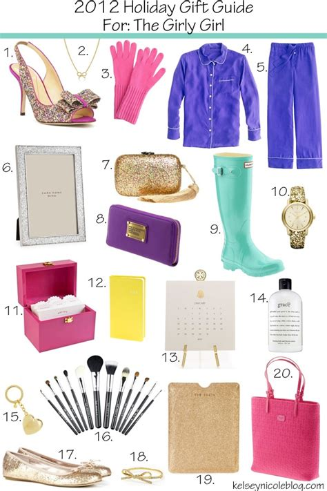 kelsey nicole holiday gift guide for the girly girl