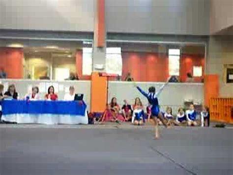 10 0 Level 4 Floor Routine by Level 4 Compulsory Gymnastics Floor Routine