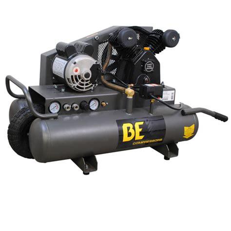be pressure ac1511b 8 gallon wheeled electric air compressor 1 5hp 8 1cfm 40psi ac1511b air
