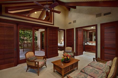 Decorative Bedroom Ideas by Bali House Tropical Living Room Hawaii By Rick
