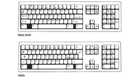 layout italiano 1 10 il layout della tastiera