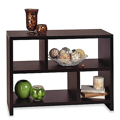 console sofa table bookshelf bookcase console table bed bath beyond