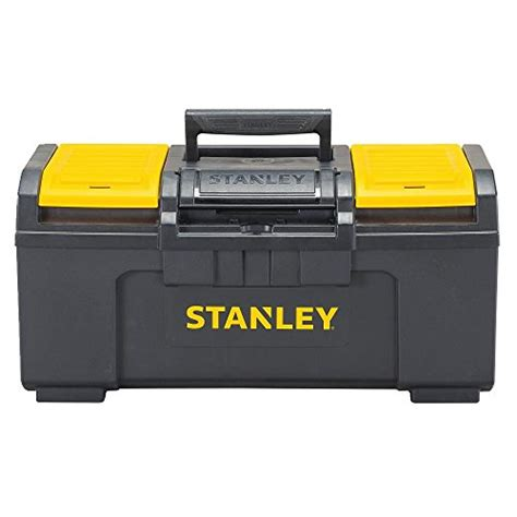 stanley stst19410 one latch toolbox 19 inch black