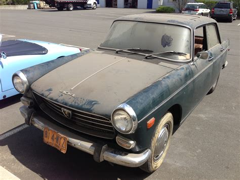 peugeot for sale 1968 peugeot 404 for sale one owner all original