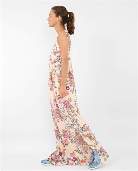 Robe Longue Soie Fleurie - robe longue fleurie p 226 le 780712i03e32 pimkie