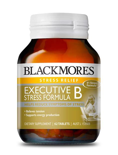 Blackmores Vitamin B Complex executive b stress formula blackmores