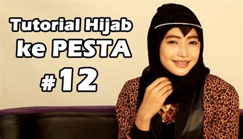 tutorial hijab pesta bisikan com tutorial hijab untuk pesta 12