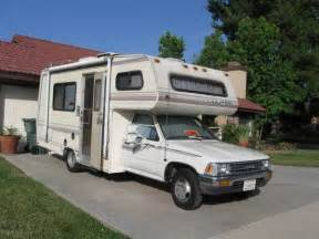 Toyota Motorhome Used Rvs 1990 Dolphin Toyota Rv For Sale By Owner