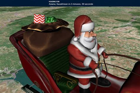 Santa Buzz Tracking Santa 2006 by The Daily Buzz Often Imitated Never Duplicated