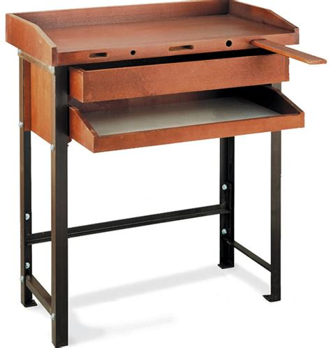 jewelers bench for sale grobet jewelers workbench single with metal legs
