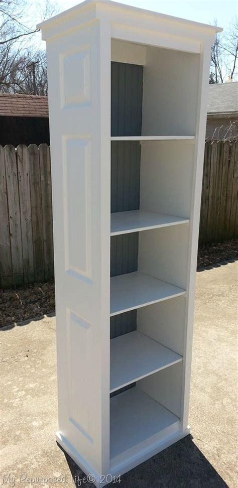 Bookcase Closet Door Bi Fold Door Bookshelf My Repurposed