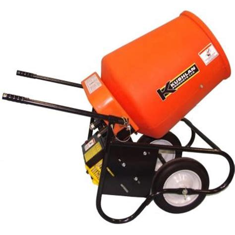 kushlan 3 5 cu ft gas powered cement mixer
