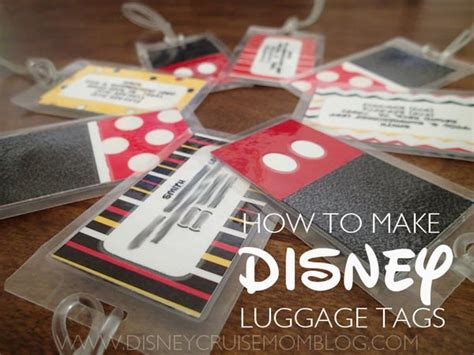 printable luggage tags disney disney vacation ideas and printables the crafting chicks
