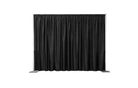 black draping event hire items perfect for corporate events wedding