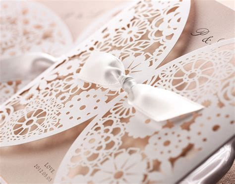 lace wedding invitations lace wedding invitations best choice for vintage and rustic weddings