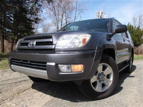04 Toyota 4runner Find Used 04 Toyota 4runner Sr5 4wd 1 Owner Cleancarfax