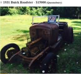 1931 Buick Parts 1931 Buick Roadster On Craigslist Queensbury Ny Not Mine