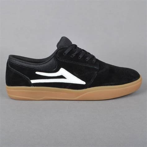 lakai shoes lakai griffin xlk skate shoes black gum suede lakai