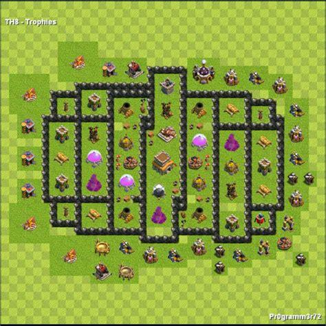 layout engraçados cv 8 centro da vila nivel 8 melhor layout clash of clans dicas