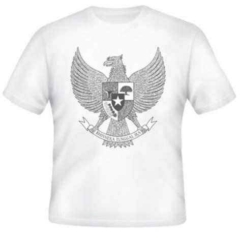 Kaos Garuda Abu by Kaos Lambang Burung Garuda Abu Kaos Premium