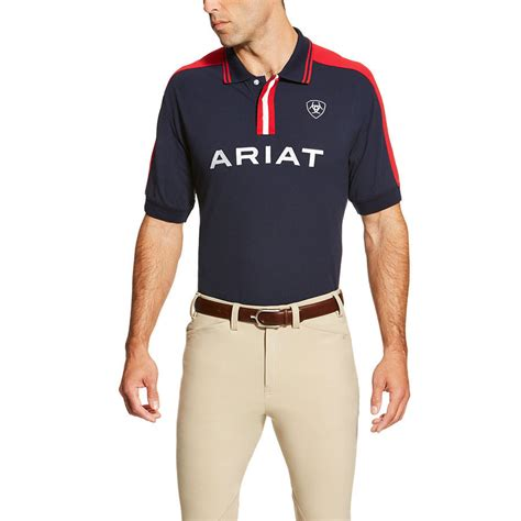 ariat mens new team polo