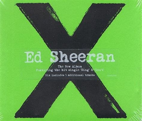 ed sheeran x full album ed sheeran x multiply cd album asylum 2014