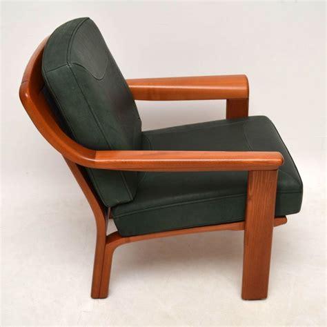 Armchair Vintage by Retro Teak Leather Armchair Vintage 1970 S