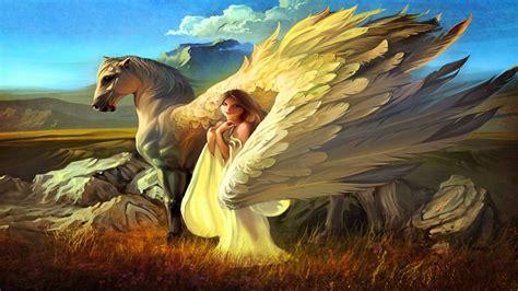 up wallpapers 4usky com fantasy pegasus horse animal art artistic artwork