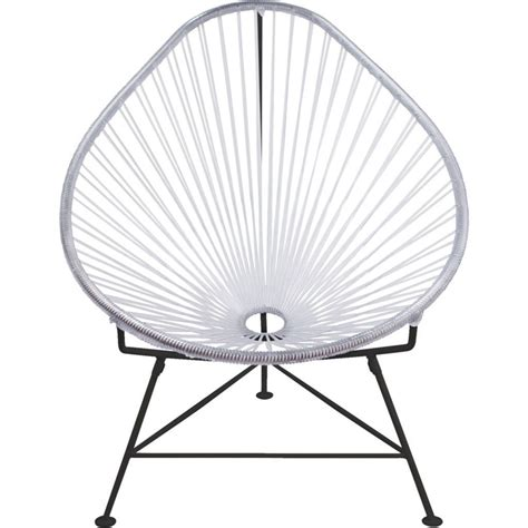 innit acapulco chair black innit designs junior acapulco chair black base sportique