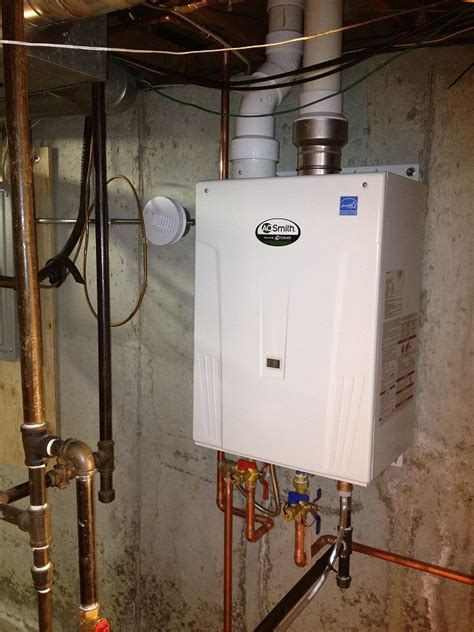 Kaufman Plumbing by New Ao Smith On Demand Water System Installed In