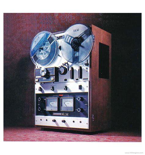Toa Stereo Seetronik Akai 1 4 Inch 6 5mm akai m 10w manual three motor auto stereo recorder hifi engine