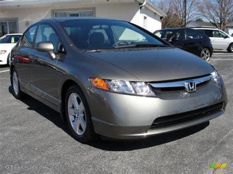 2007 Honda Civic Ex by 2007 Borrego Beige Metallic Honda Civic Ex Sedan 46345068