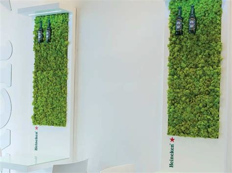 Moss Vertical Garden Indoor Vertical Garden Deco Moss By Greenarea