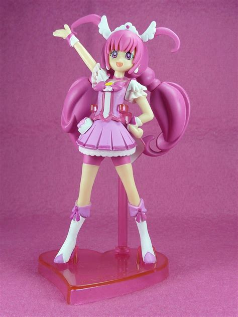Pretty Cure Figure Set 3 pretty cure shokugan figurecuty figure complete set bandai