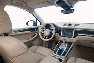 Porsche Macan Interior Space 2014 Porsche Macan Review Best Car Site For