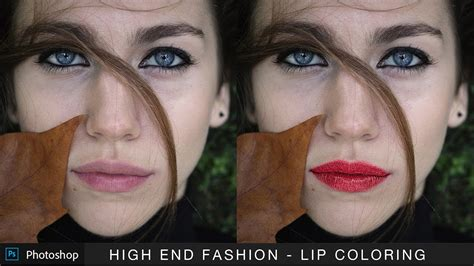 photoshop glossy lips tutorial 1 youtube high end glossy lip coloring in photoshop applying