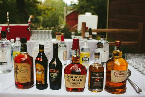 New Kitchen Cabinet Cost how to set up a diy bar for your wedding