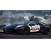 Car Wallpaper Lamborghini Reventon Police