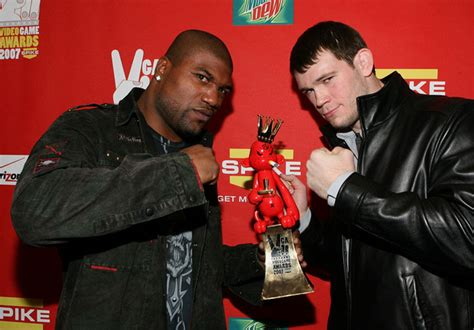 Rage Jackson Vs Forrest Griffin Quinton Jackson In Spike Tv S 2007 Quot Awards Quot Backstage Zimbio